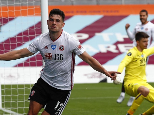 Egan gives Blades share of the spoils at Burnley