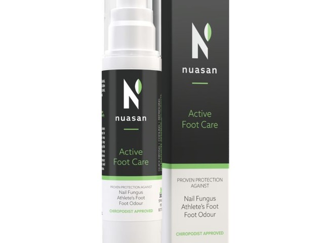 Hand Disinfectant Foot Sprays - The Nuasan Active Foot Spray Can Safely be Used as Hand Sanitizer (TrendHunter.com)