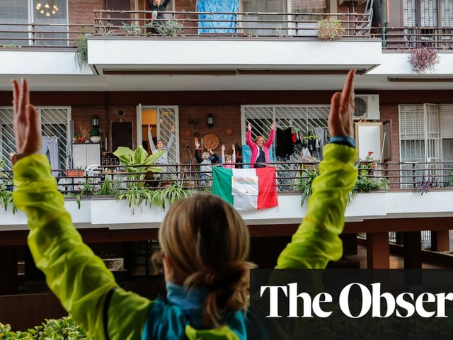 After a year of death and solitude, Italy is a sober, serious place