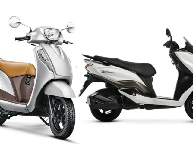 Suzuki Overtakes Hero MotoCorp In H1 FY2019-20 Scooter Sales