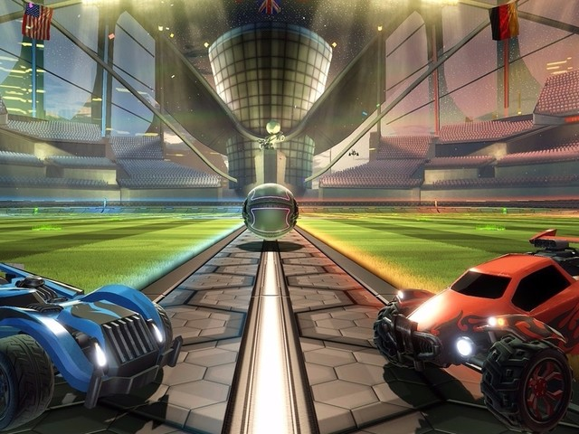 Rocket League in a box costs £35 on Nintendo Switch