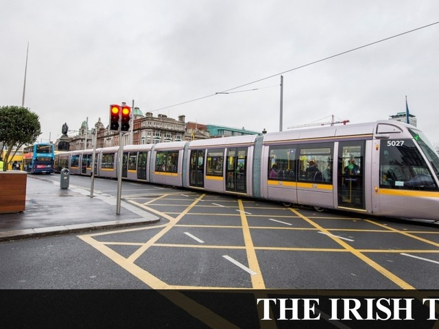 Luas chief admits trams are no quicker than a 'slow jogging pace'