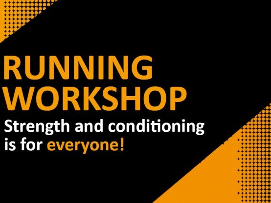 Running Workshop 2019