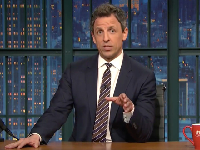 Best of Late Night: Seth Meyers Thinks Rep. Steve King Is the Real Horror Master