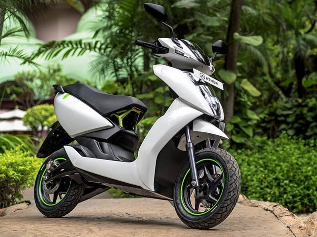 Ather 450 price reduced thanks to FAME-II