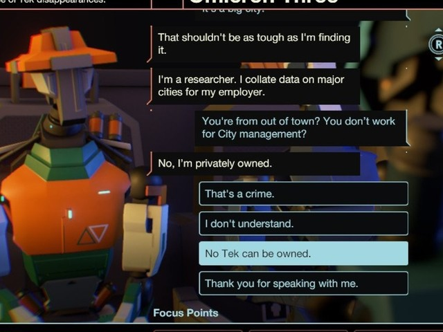 Mike Bithell's Subsurface Circular coming to Nintendo Switch