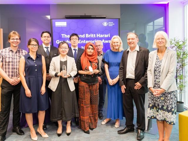 Eli and Brit Harari Graphene Enterprise Award 2019: Winners Announced