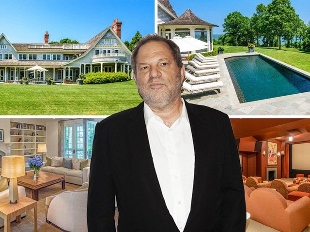 Scandal-hit Harvey Weinstein puts $12 million home – with cinema, pool and rooftop deck – up for sale