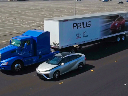 Toyota fuel-cell Class 8 prototype to start drayage routes at Ports of Los Angeles and Long Beach