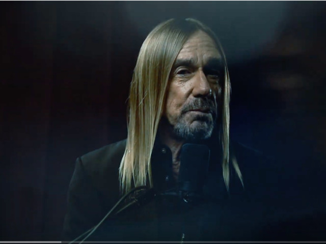 WATCH THIS! Iggy Pop great new single 'James Bond'