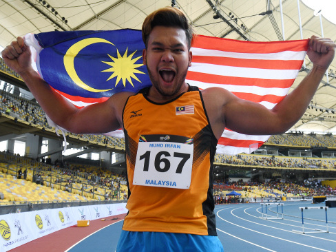 Malaysia juggernaut rolls on with 40 and men's sprint gold (Updated)