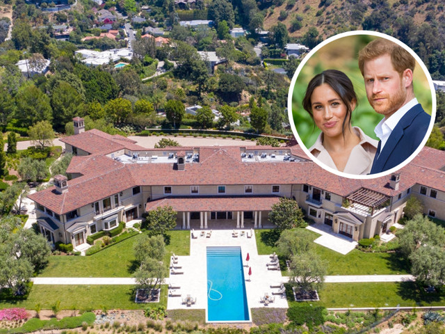 Meghan Markle, Prince Harry Move Into Tyler Perry's Beverly Hills Estate