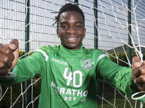 Stephane Omeonga: Hibernian signing sussed out by supporter