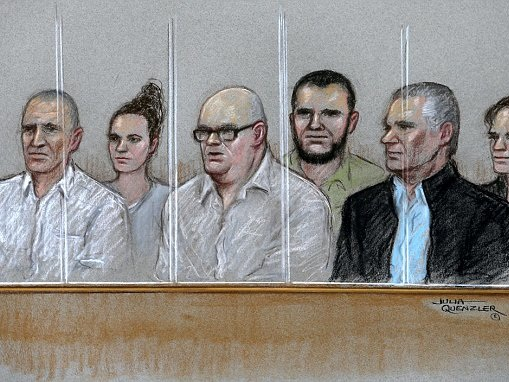 Paranoid schizophrenic who stabbed flatmate on trial