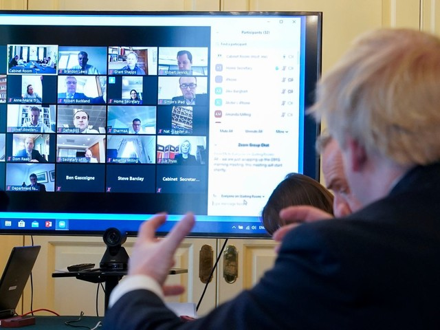 Coronavirus: Cabinet talks held on video call banned by Ministry of Defence