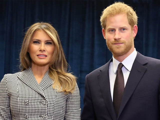 Prince Harry Meets Melania Trump Ahead of Invictus Games Opening in Toronto