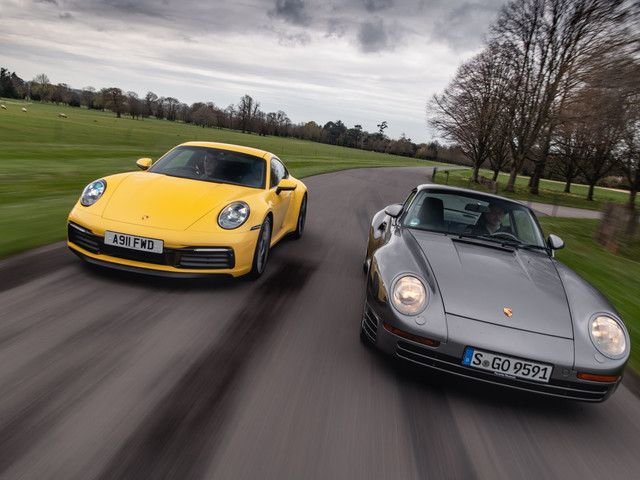 The evolution of Porsche: new 911 vs legendary 959