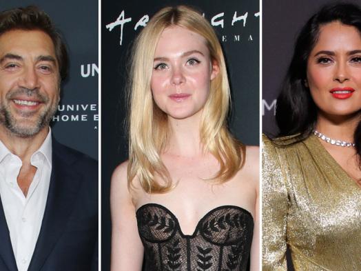 Javier Bardem, Elle Fanning, Salma Hayek to Star in Sally Potter Drama