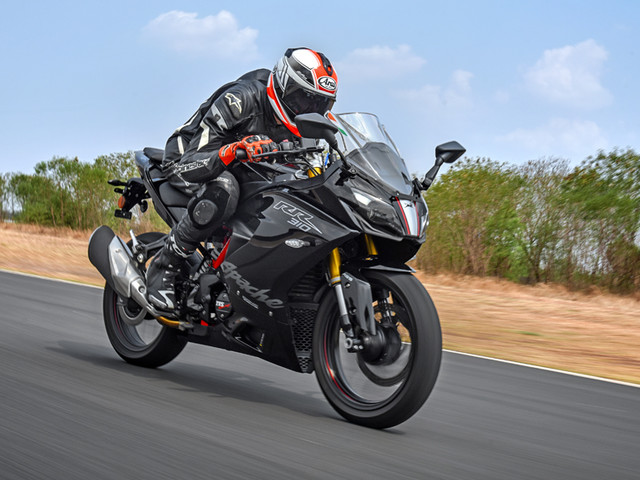 Review: 2019 TVS Apache RR 310 review, track ride