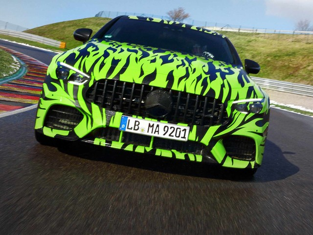 Mercedes-AMG GT Four-Door Gets a Flame Job in Latest Teaser