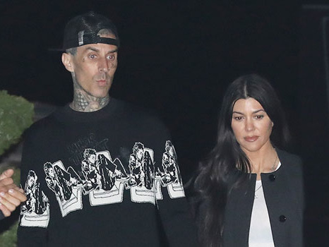Travis Barker Caresses Kourtney Kardashian's Butt & Confesses His 'Love' For Her In New Videos