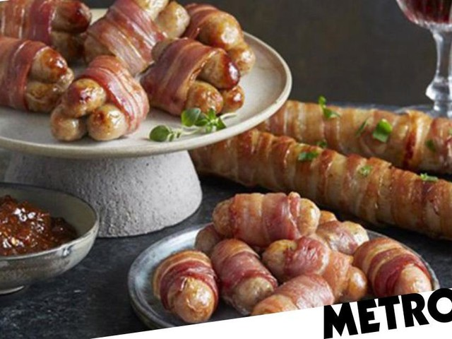 Aldi is launching foot-long pigs in blankets this Christmas
