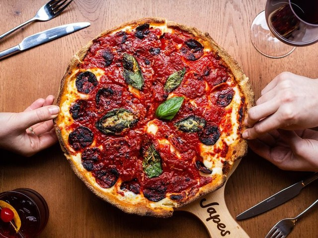 Deep Dish Chicago-Style Pizza Finally Arrives In London