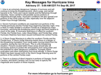 MAGA Hurricane Preparedness Thread - Hurricane Irma