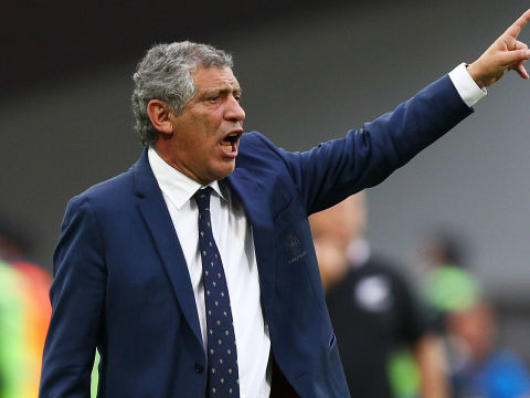 Santos 'will go to the end of the world' with Portugal stars