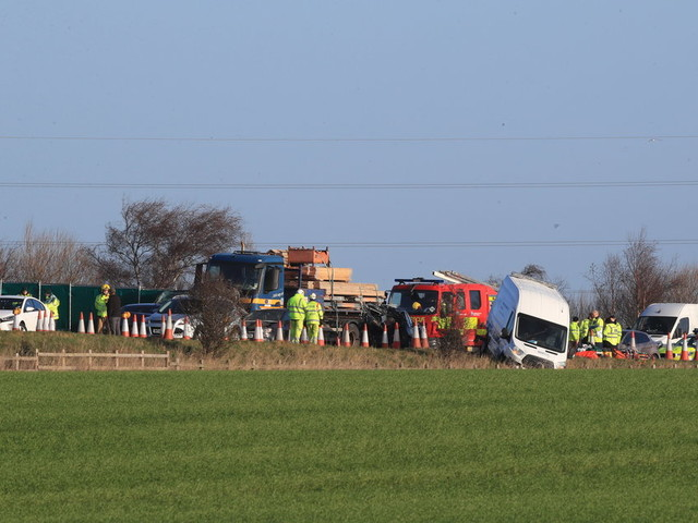 Man Arrested After Woman And Teenager Die In Horror Crash On M58