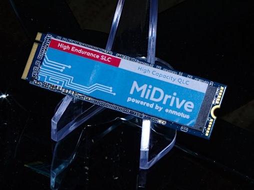 Enmotus MiDrive: Rethinking SLC Caching For QLC SSDs