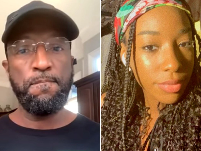 Comedian Rickey Smiley's daughter Aaryn, 19, shot TWICE by stray bullet in road rage incident