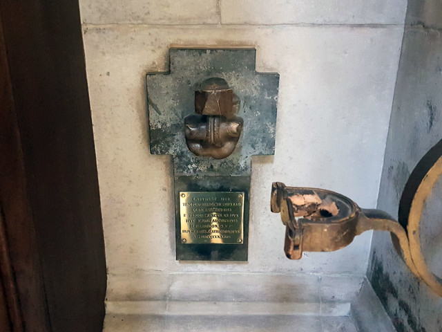 The three smallest monuments in St Paul's Cathedral