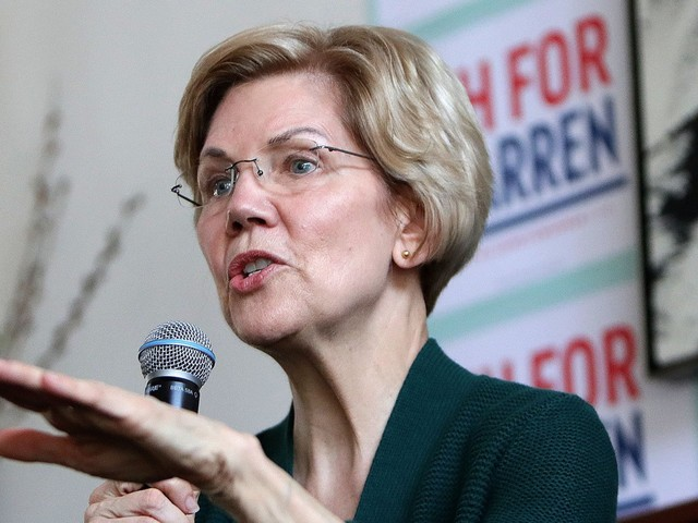 Elizabeth Warren becomes the first senator —and first 2020 candidate —to call for impeaching Trump over the Mueller report