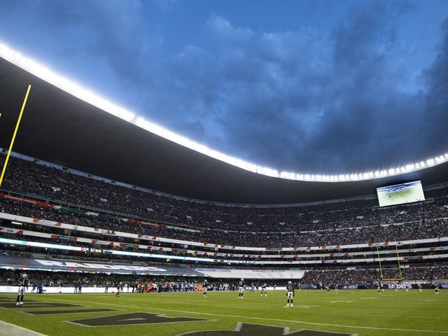 Why the NFL plays a Mexico City game
