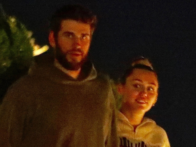 Miley Cyrus & Liam Hemsworth Step Out for Date Night in Malibu!