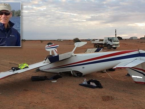 Pilot who miraculously escaped death in plane crash in Australian Outback vows to fly again