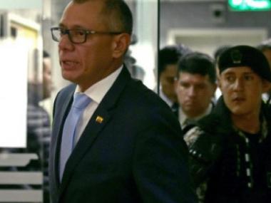 Ecuador's VP handed 6 years in prison in Odebrecht graft case