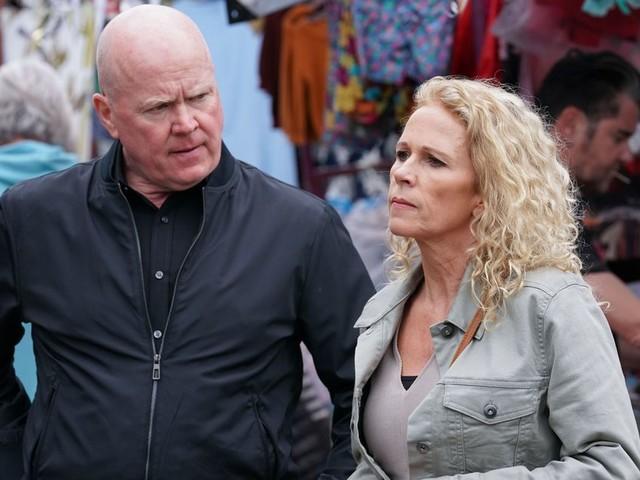 EastEnders' Lucy Benjamin on 'crazy' return in dramatic week featuring hellish wedding