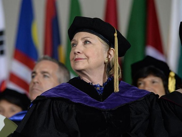 The Most Money Lines From Hillary Clinton's Surprisingly Good Wellesley Commencement Speech