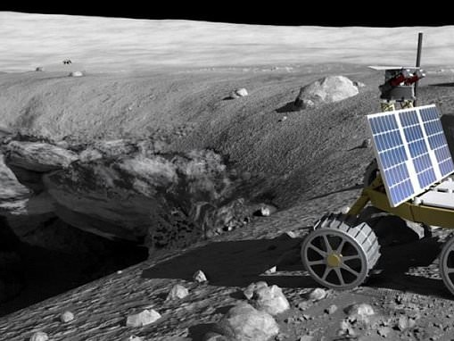NASA is investing in technology that could help mine asteroids and the moon for precious resources