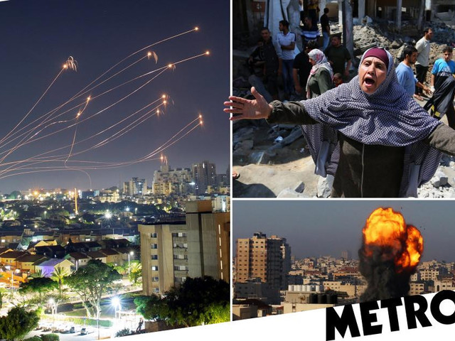 Family of 10 killed by Israeli airstrikes in Gaza as unrest spreads to West Bank