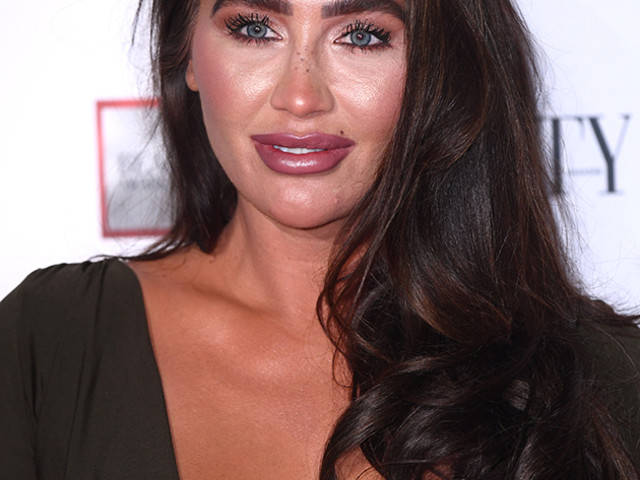 Lauren Goodger WOWS fans as she poses in tiny gold lingerie for sizzling new holiday snap