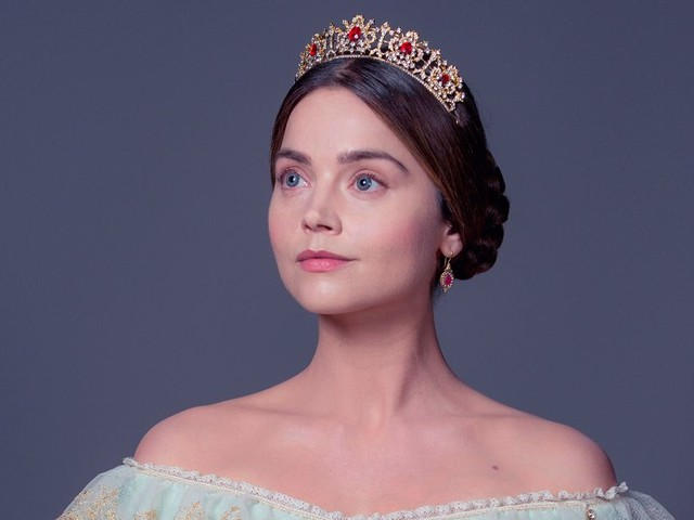 Who is Jenna Coleman in Victoria on ITV and what other shows has she been in?