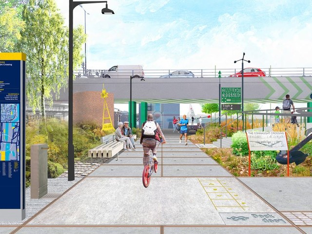 Consultation seeks to improve cycling and walking in the Royal Docks