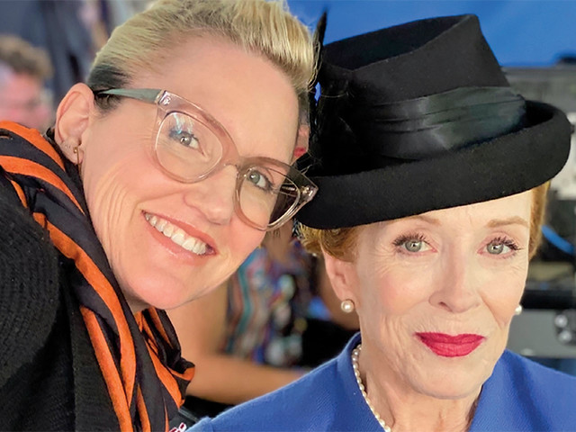 'Hollywood's' Holland Taylor and Eryn Krueger Mekash on Creating a Boss 1940s Face