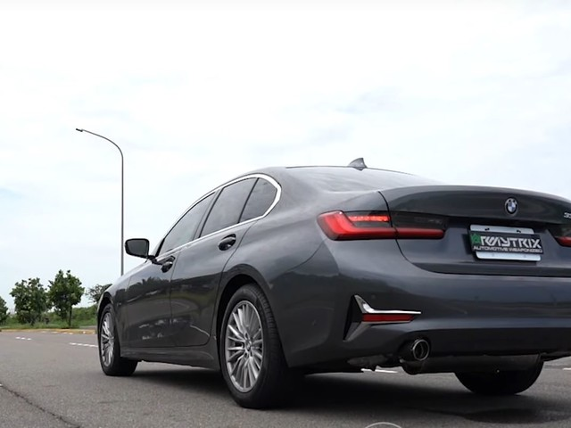Video: 2019 BMW 330i with Armytrix Exhaust Sounds Surprisingly Good