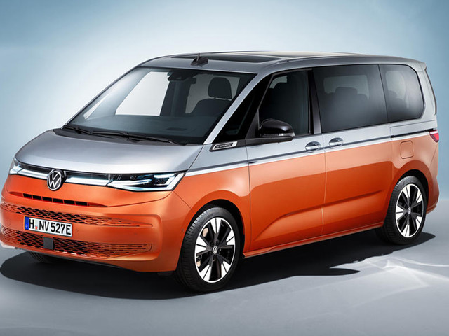 New Volkswagen Multivan revealed