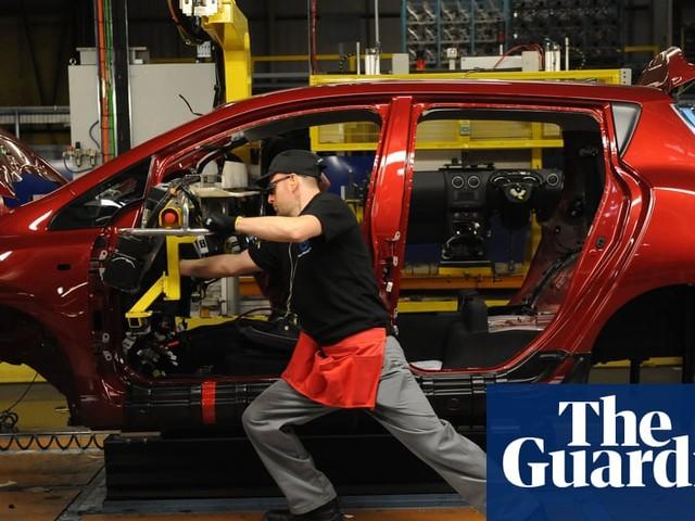 UK economy slows as car sales slide