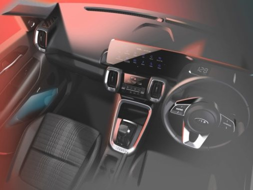 Kia Sonet Interiors Revealed, Will Get a 10.25-inch HD Touchscreen and UVO Connected Technology